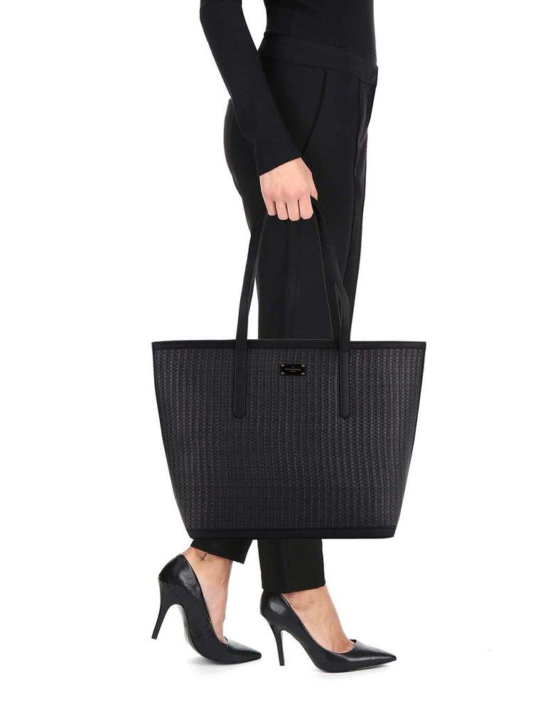 Geanta shopper neagra Paul's Boutique Cleo