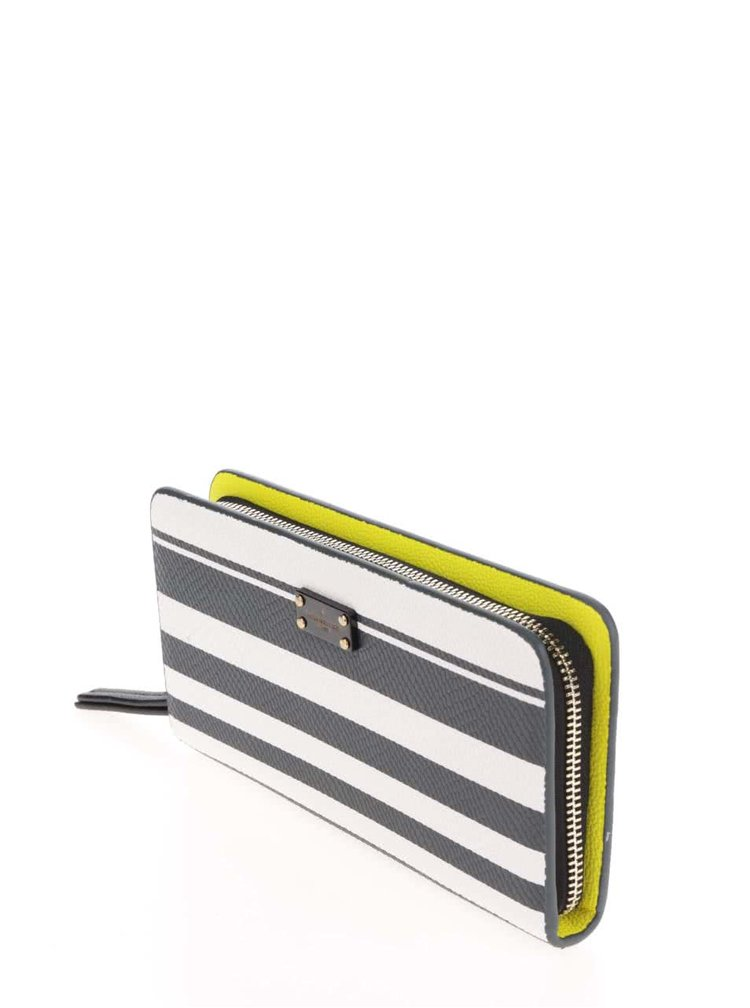 Modro-bílá pruhovaná peněženka Paul's Boutique Carla