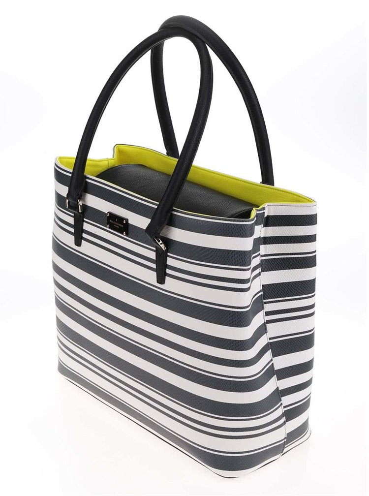Zeleno-krémová kabelka Paul's Boutique Sonya