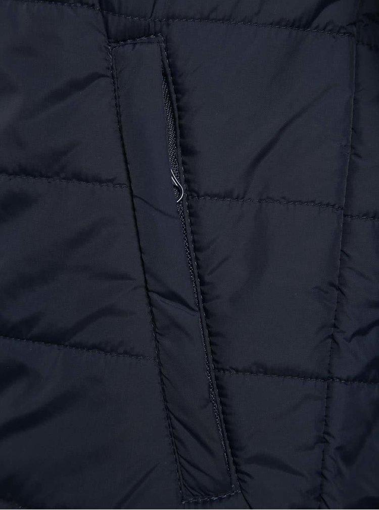Tmavě modrá klučičí prošívaná bunda na zip 5.10.15.