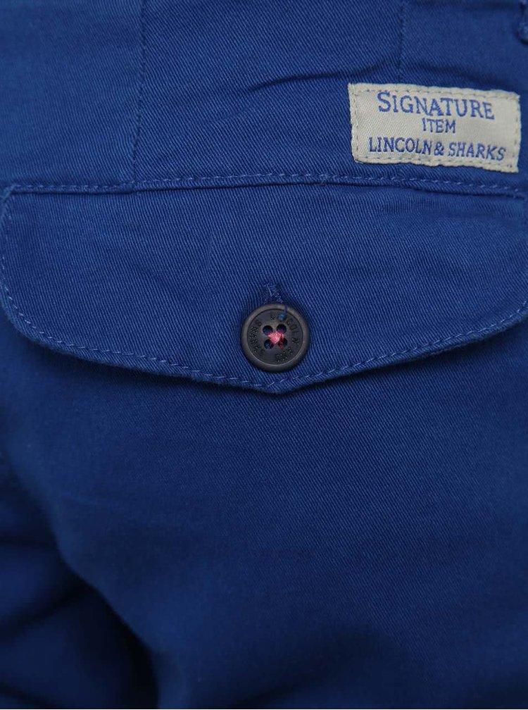Tmavě modré klučičí chino kalhoty 5.10.15.