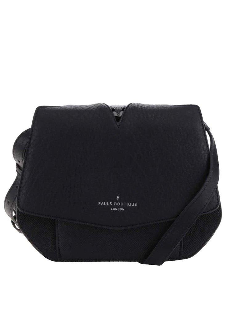 Geanta crossbody neagra cu bareta ajustabila - Paul's Boutique Avery
