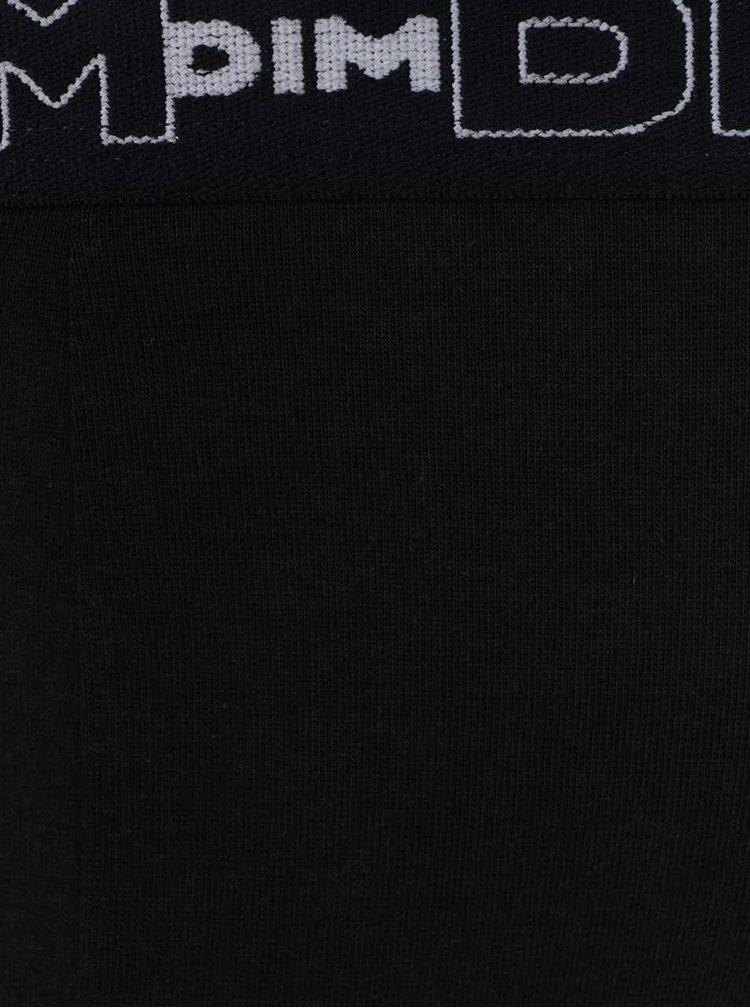 Sada dvou slipů v černé barvě DIM