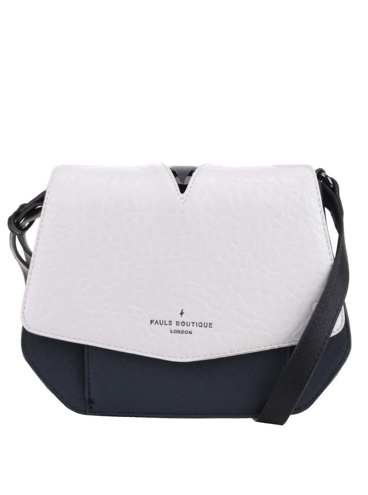 Geantă crossbody alb&bleumarin Paul's Boutique Hatiie