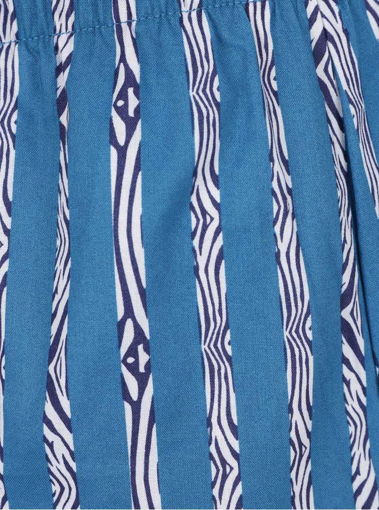 Sada dvou trenýrek v modré a tyrkysové barvě DIM