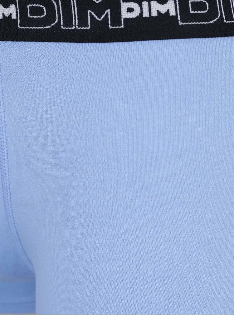 Sada tří boxerekv modré a černé barvě DIM