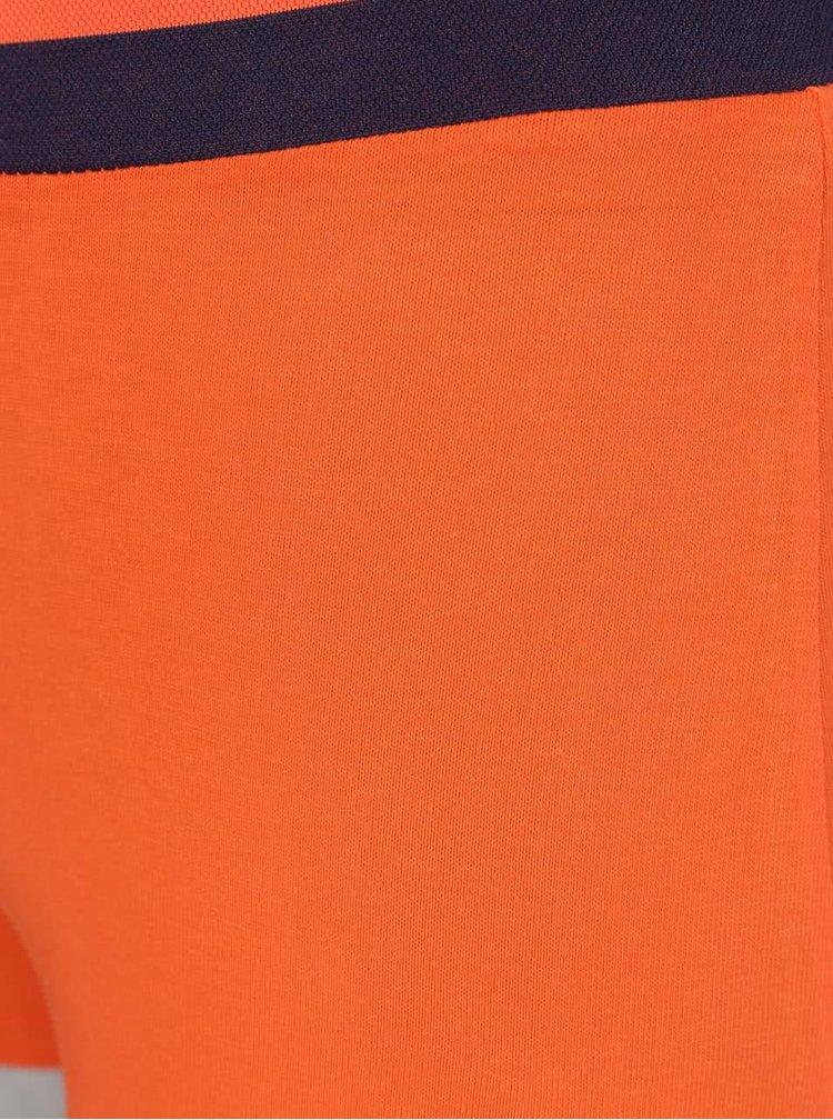 Sada dvou boxerek v modré a oranžové barvě DIM