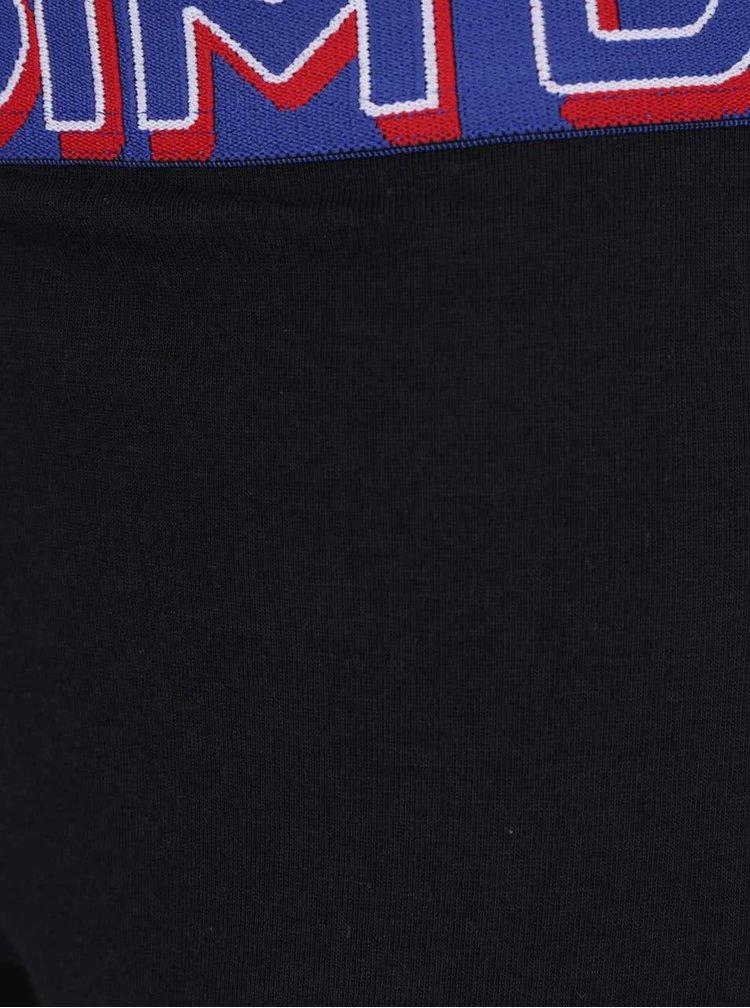 Sada tří boxerek v černé, červené a modré barvě DIM