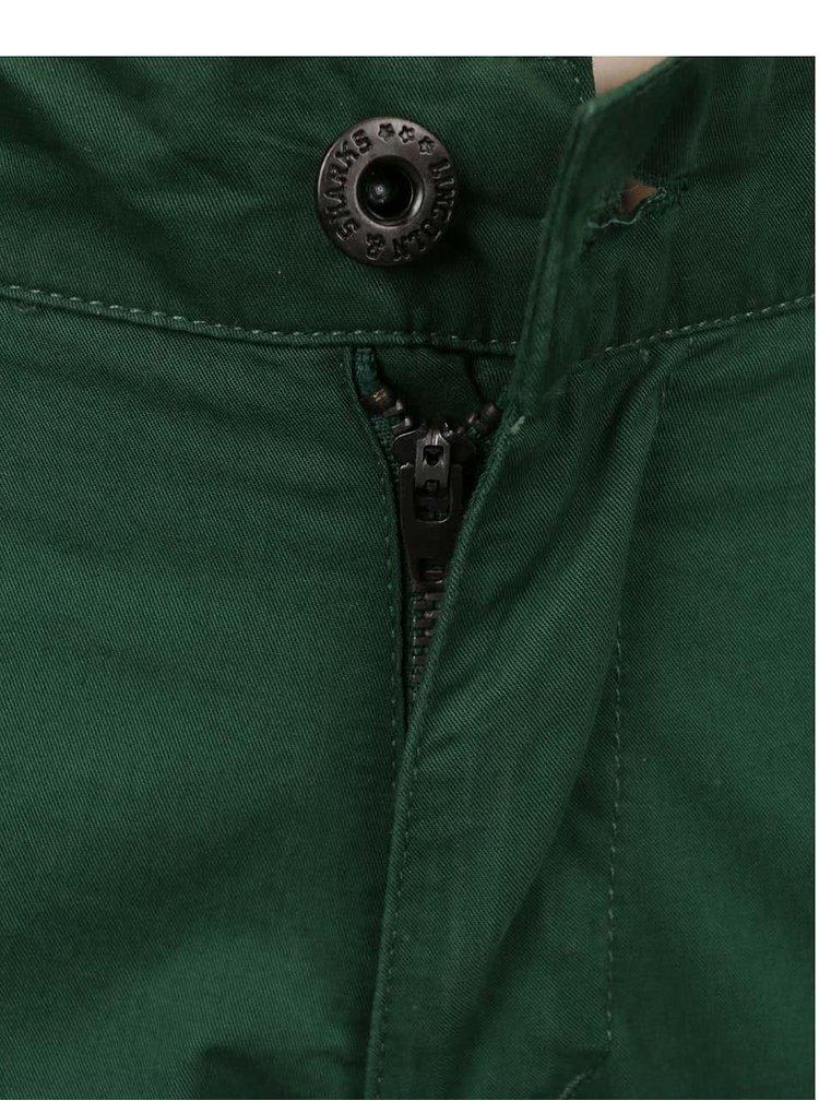 Tmavě zelené klučičí chino kalhoty 5.10.15.