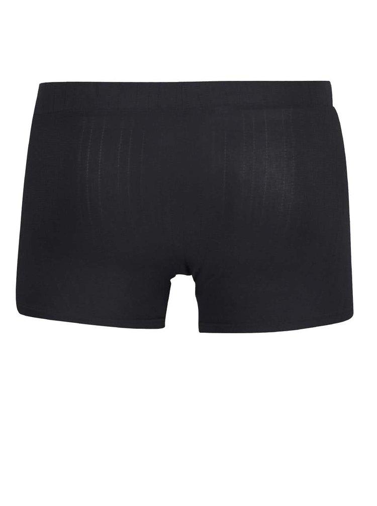 Tmavě šedé boxerky DIM