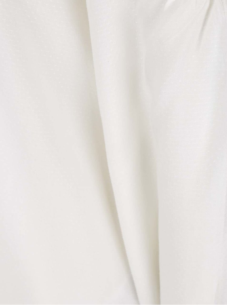 Krémová halenka s odhalenými rameny VERO MODA Deb