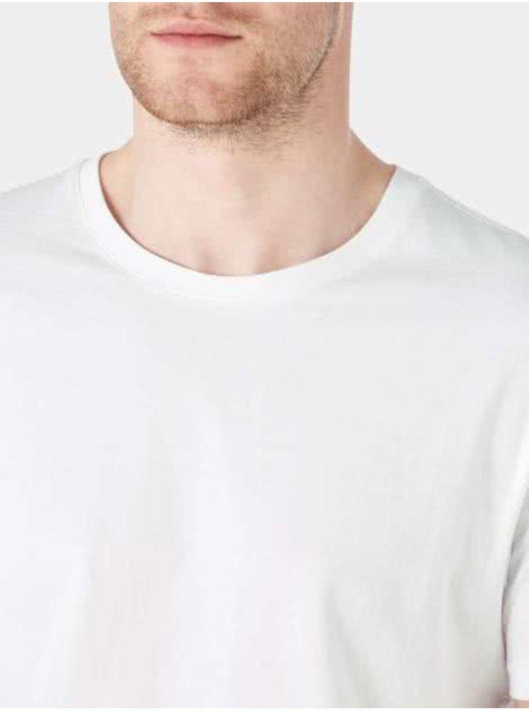 Tricou alb din bumbac - Burton Menswear London