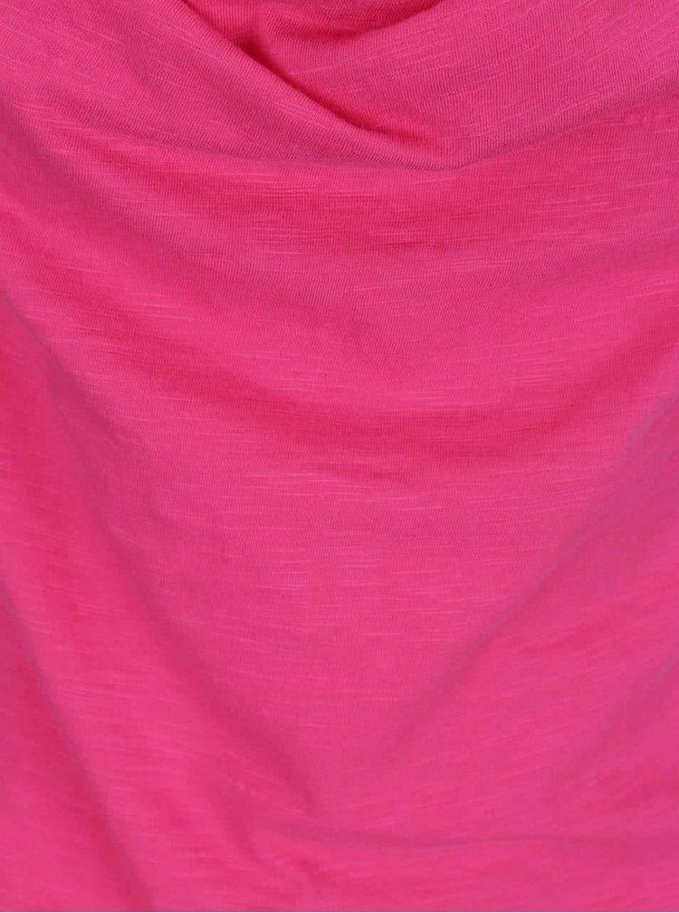 Růžové žíhané tílko Tranquillo Helga