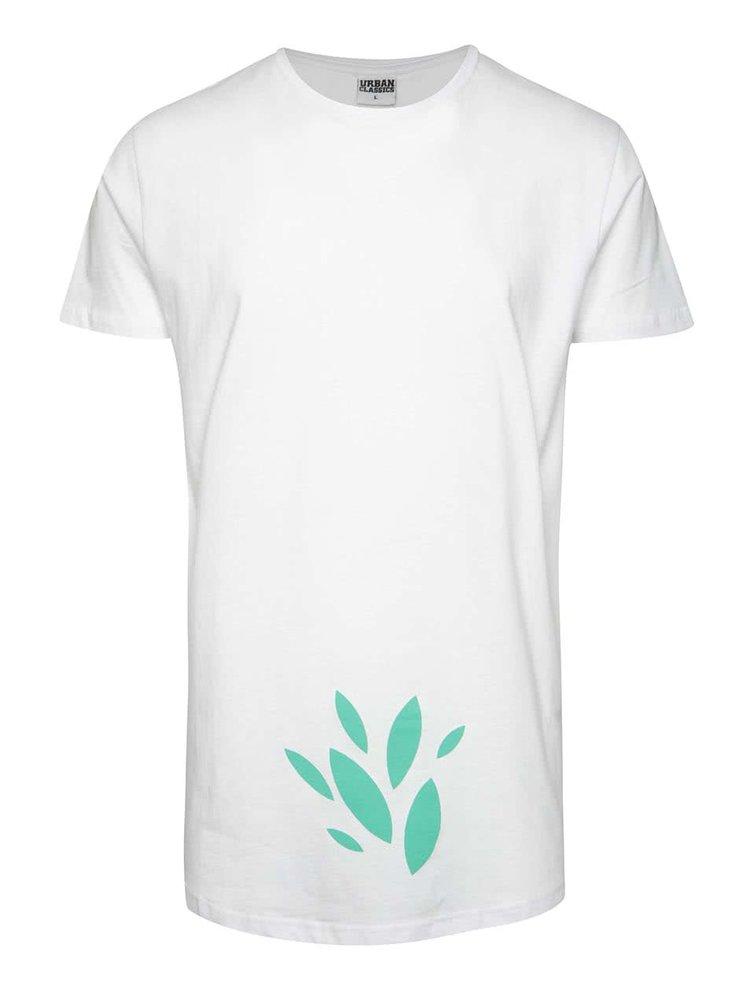 Bílé unisex tričko se zeleným potiskem Primeros TeaTree