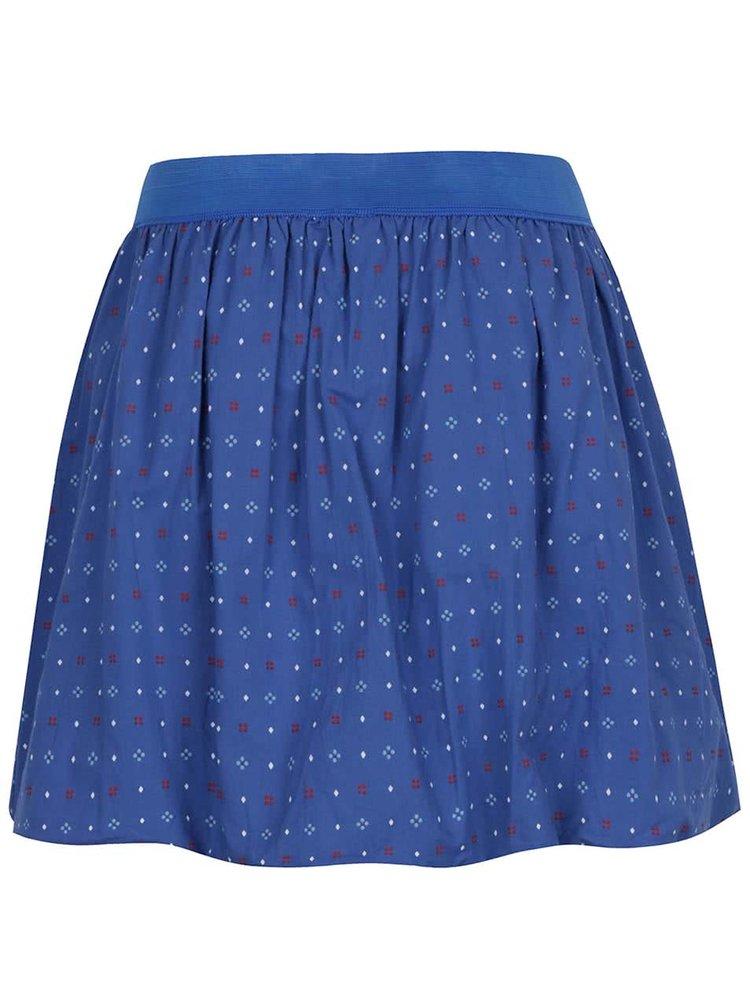 Modrá vzorovaná sukně Tranquillo Katla