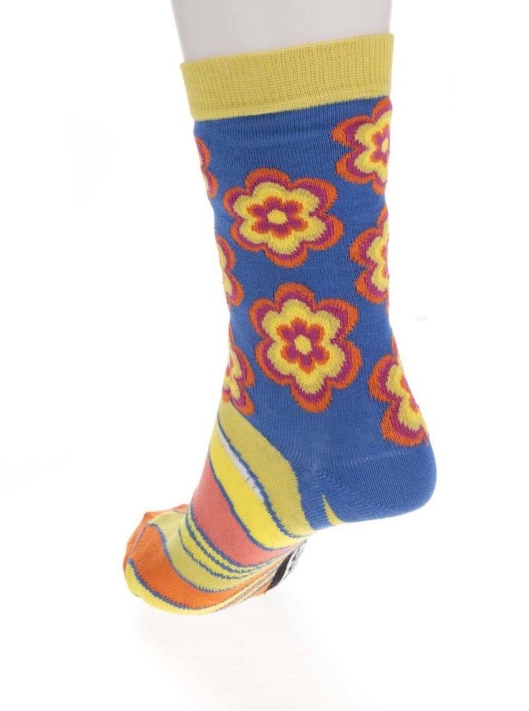 Sada tří dámských ponožek v žluté barvě Oddsocks Shirley