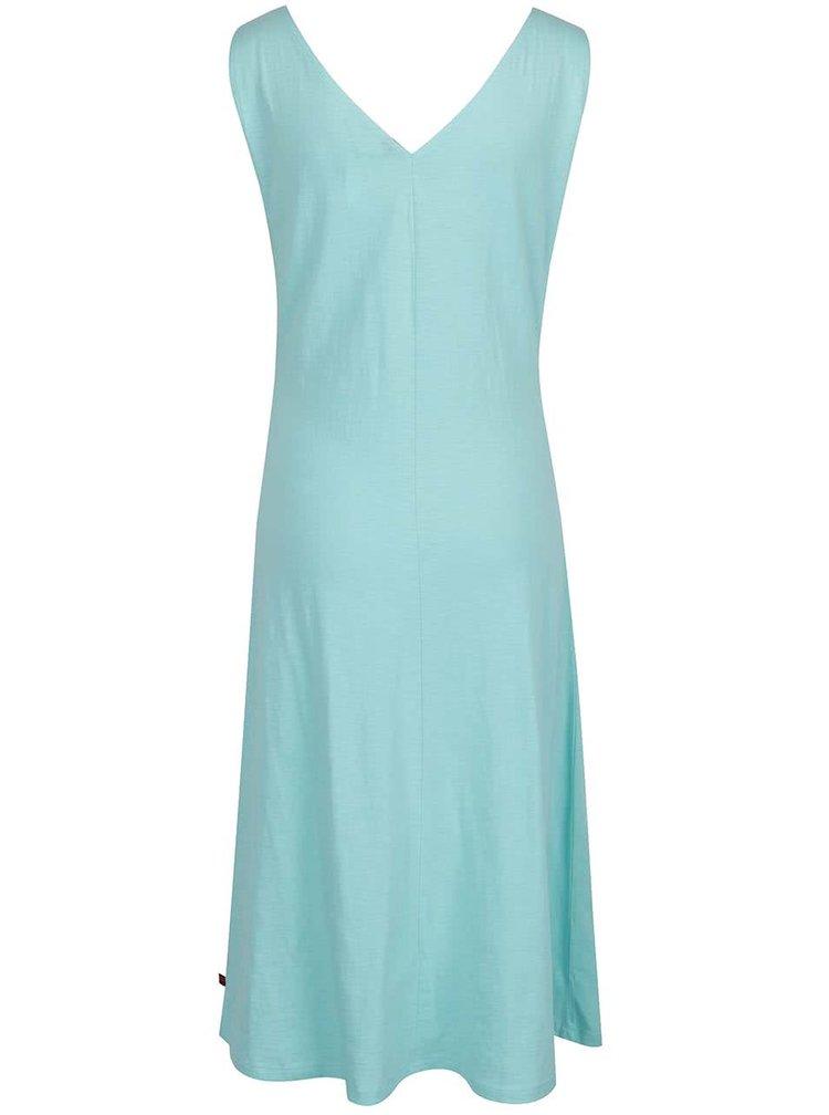 Světle zelené šaty s véčkovým výstřihem Tranquillo Kiki