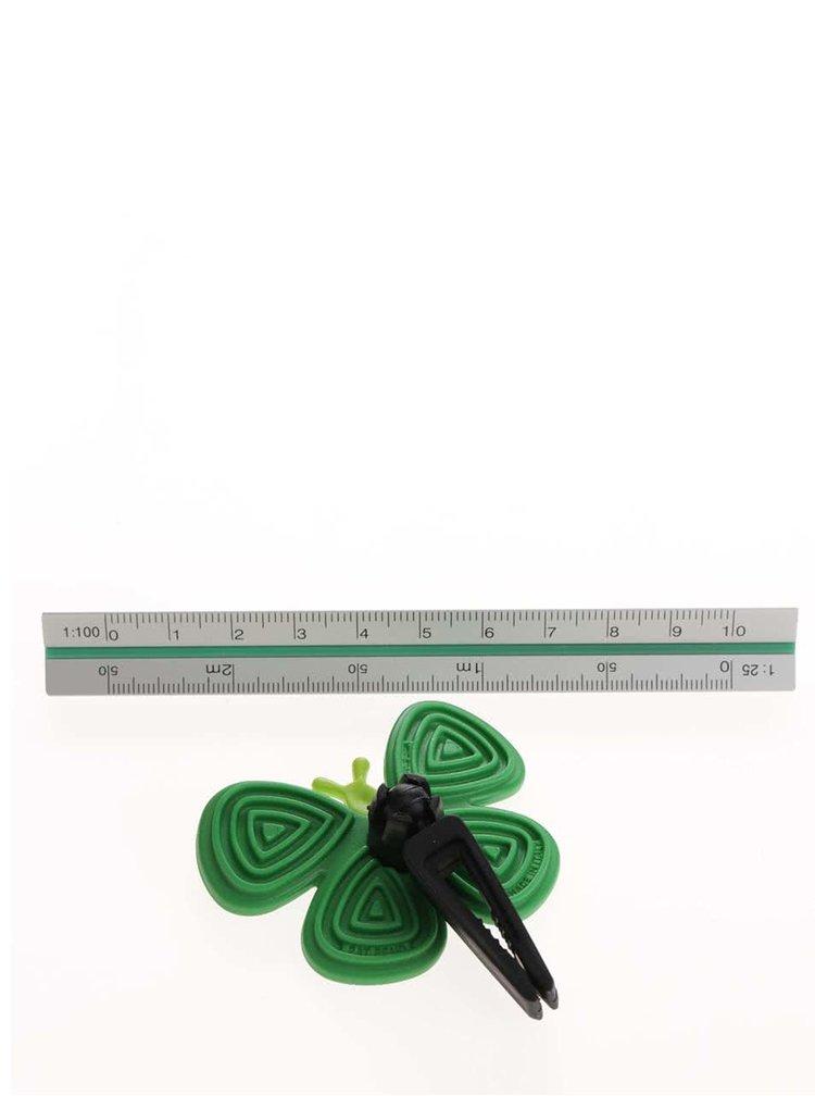 Odorizant auto verde Motýlek Marta Black Green Tea