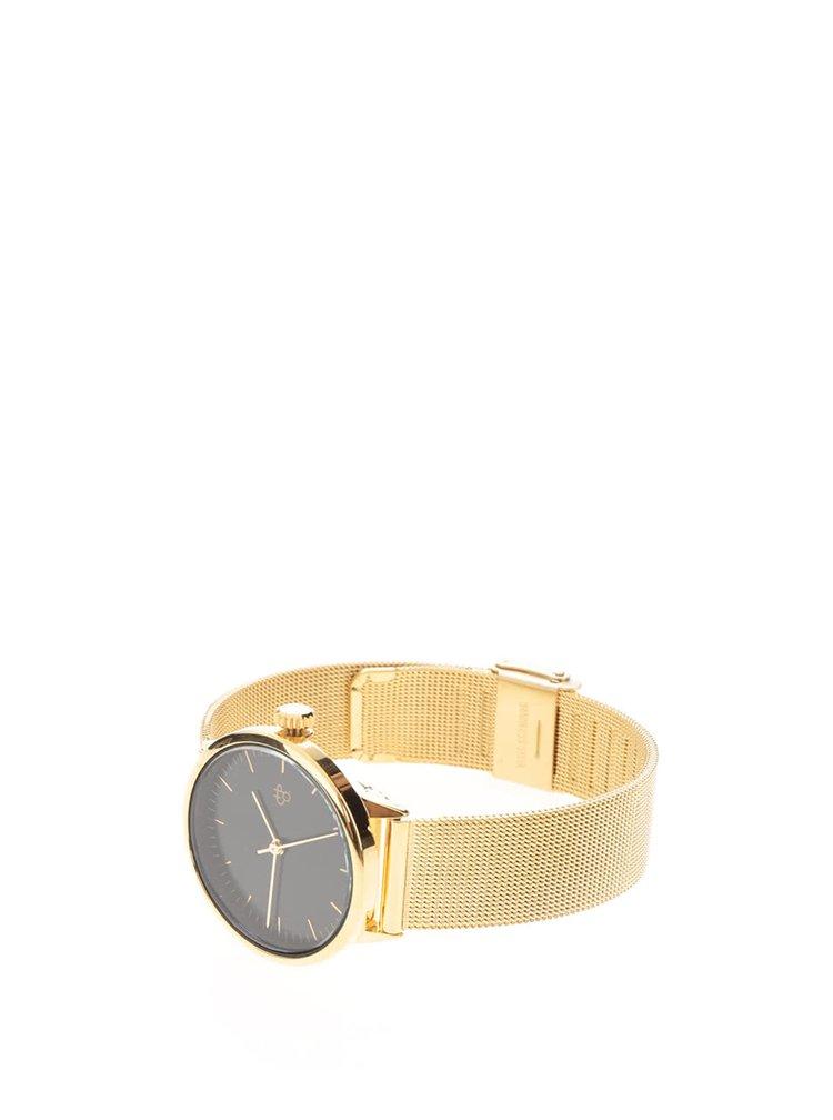Dámské hodinky ve zlaté barvě CHPO Nando Mini Gold