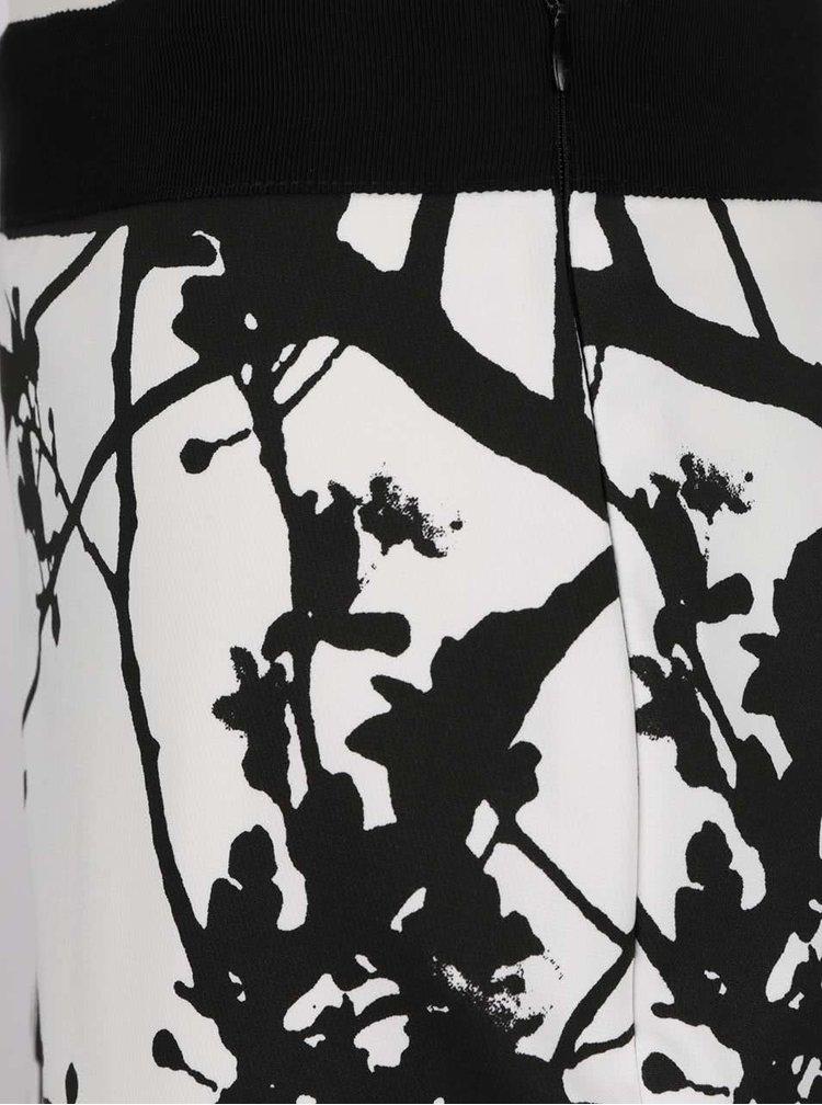 Fustă alb&negru Pietro Filipi cu imprimeu