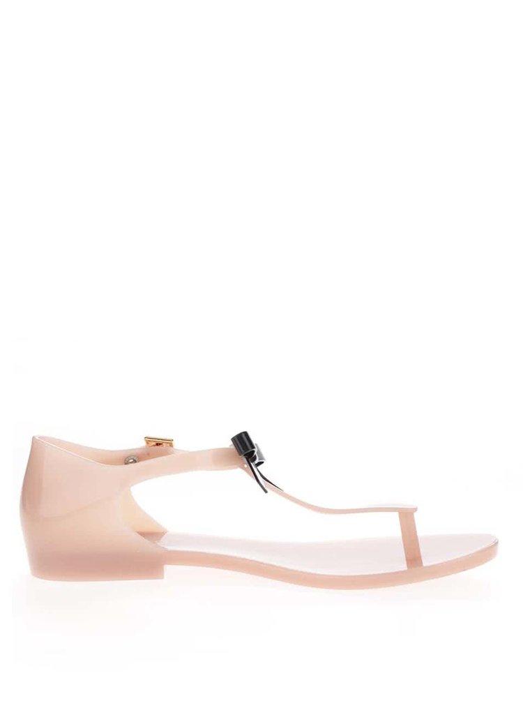 Sandale roz pal Melissa Honey cu funda