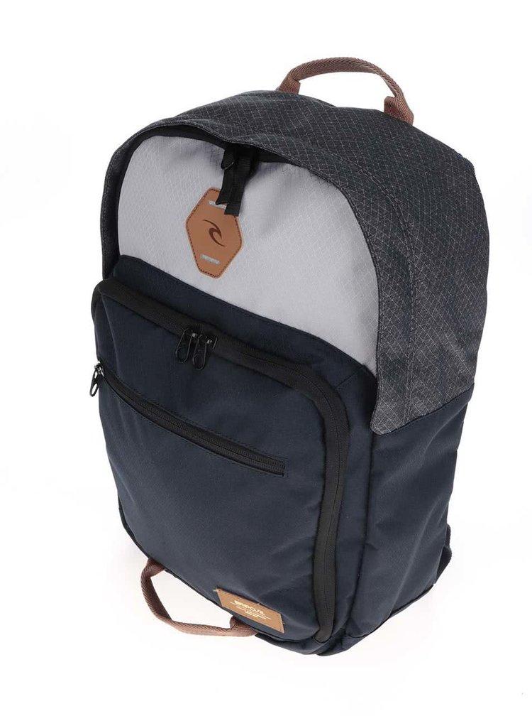 Šedo-modrý unisex batoh Rip Curl Box Surfpack