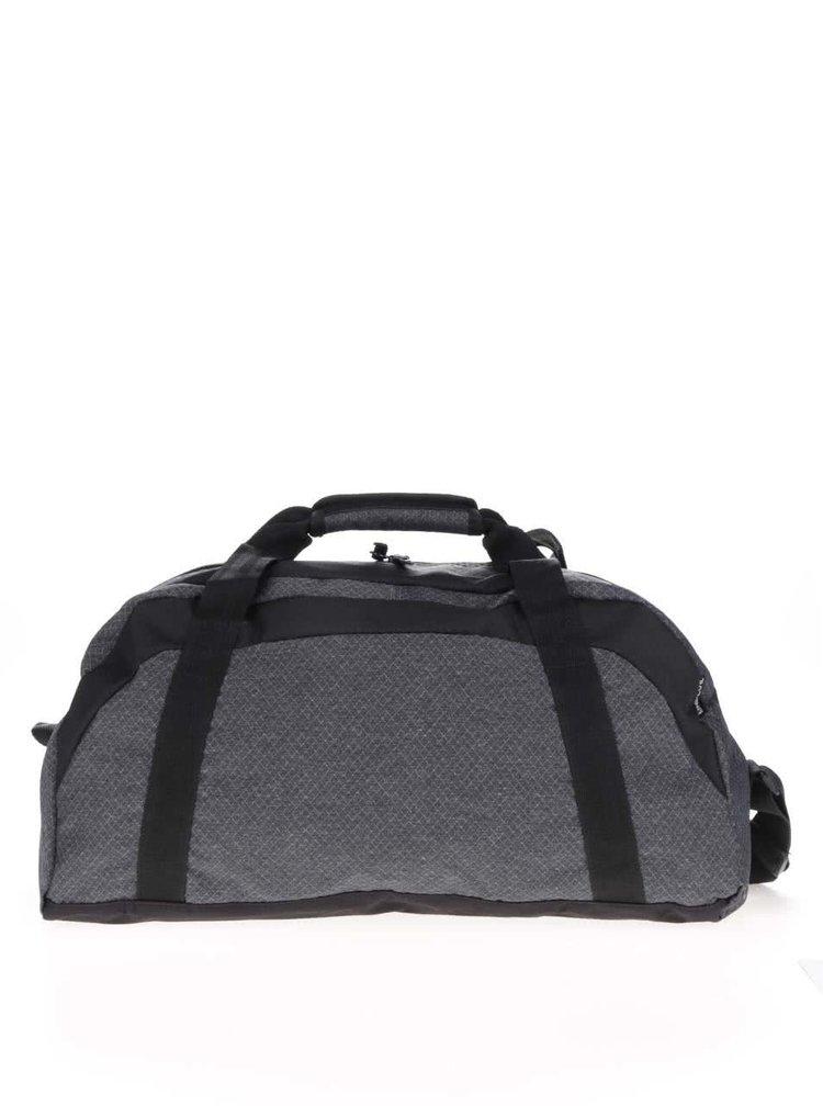 Černo-šedá pánská cestovní taška Rip Curl Heather Ripstop Reflex
