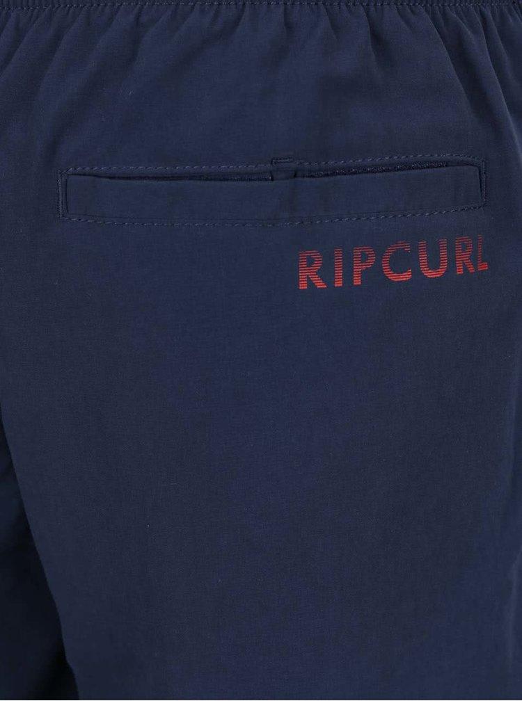 Tmavě modré pánské plavky Rip Curl Volley Colorful