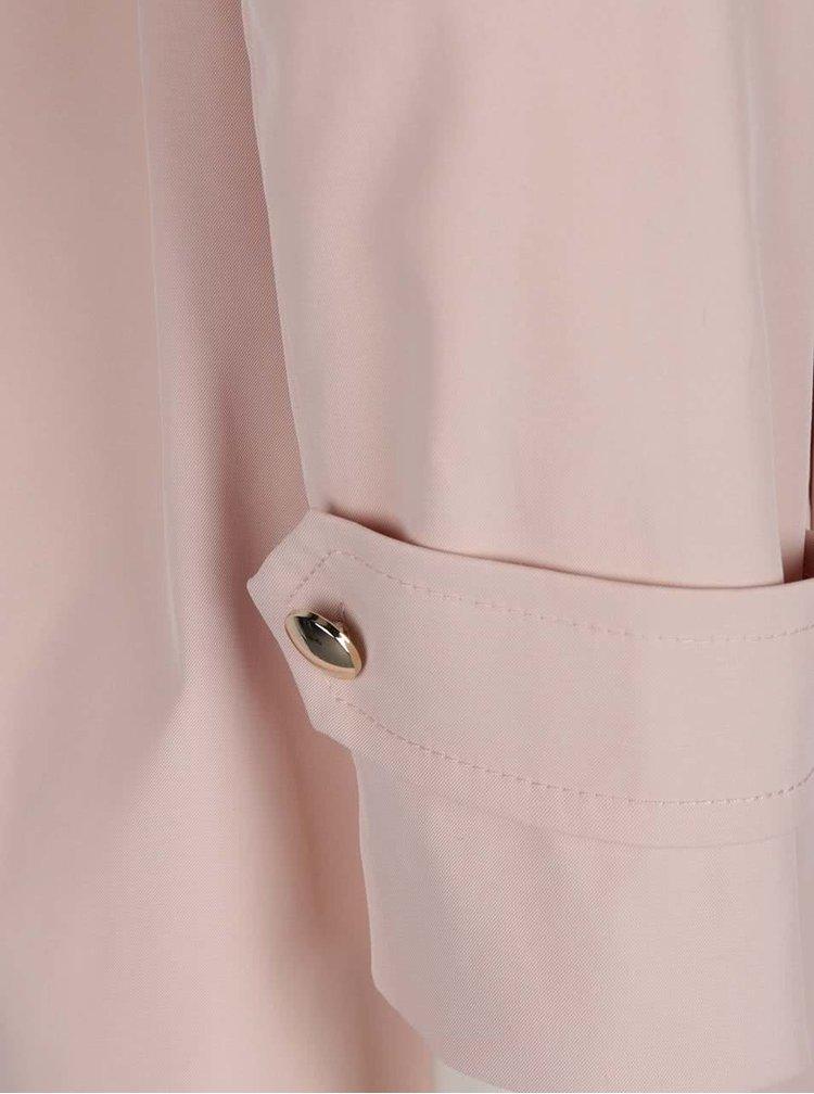 Trenci roz deschis Dorothy Perkins cu cordon