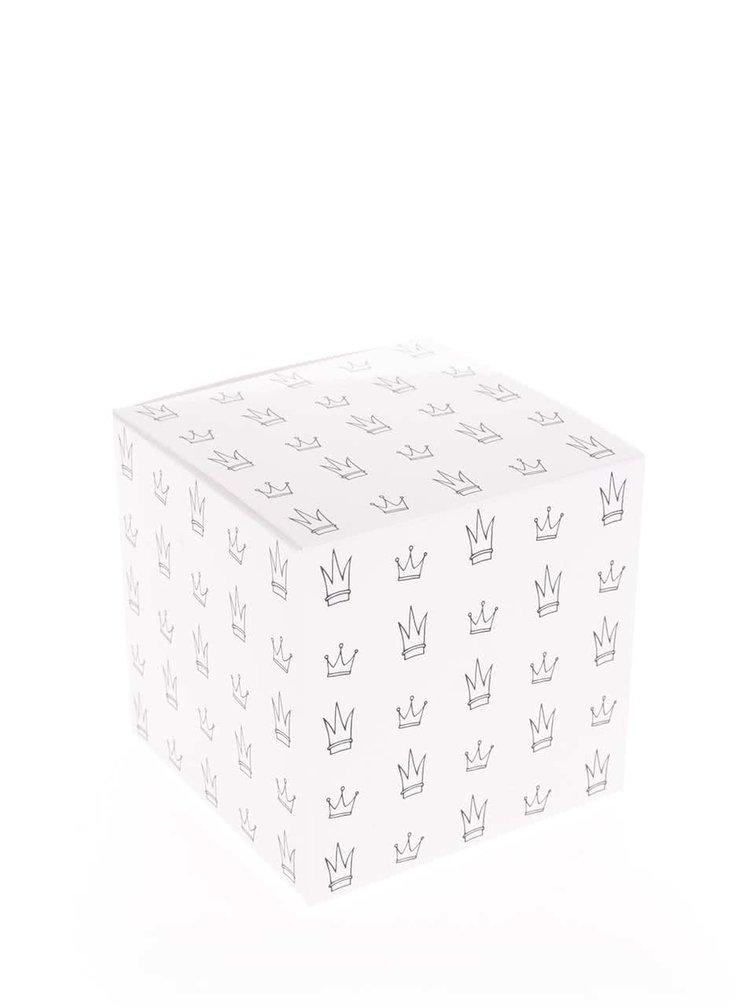 Tmavě šedý hrnek s motivem jednorožce Butter Kings