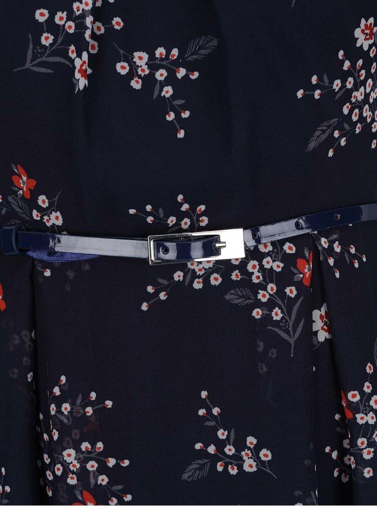 Rochie albastră Billie & Blossom cu model