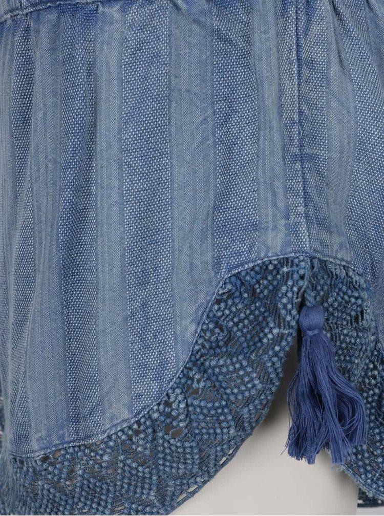 Modré dámské kraťasy Rip Curl Las Dalias