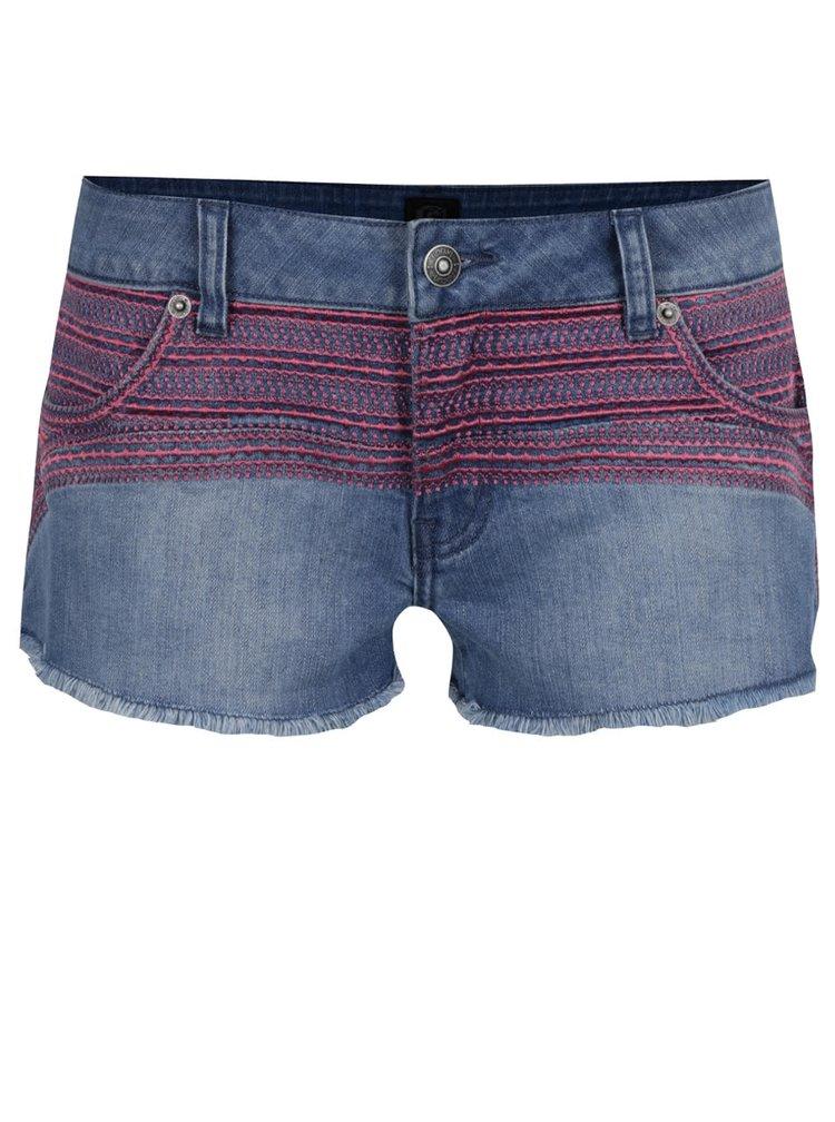 Pantaloni scurti albastri Rip Curl Mallen din denim