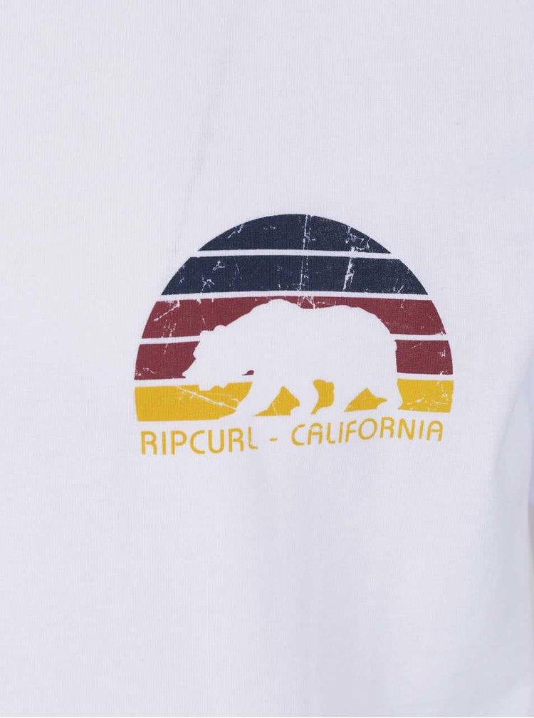 Tricou alb Rip Curl Cali Bear