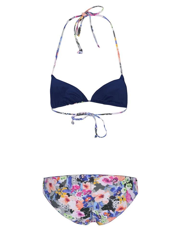 Costum de baie multicolor Rip Curl Baleare cu imprimeu floral