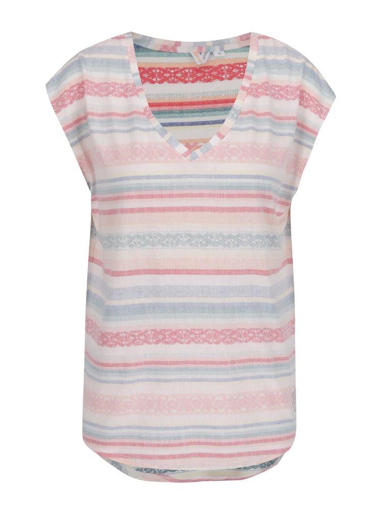 Růžové dámské tričko bez rukávů Rip Curl Gracia