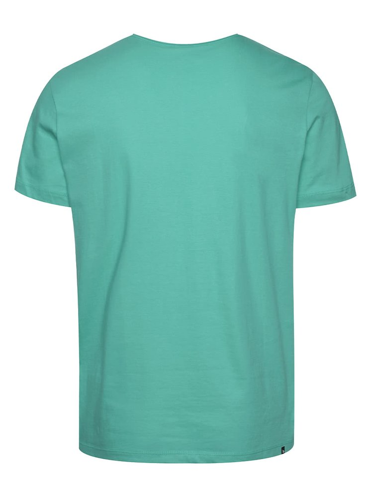 Zelené pánské triko s potiskem Rip Curl Losange Logo