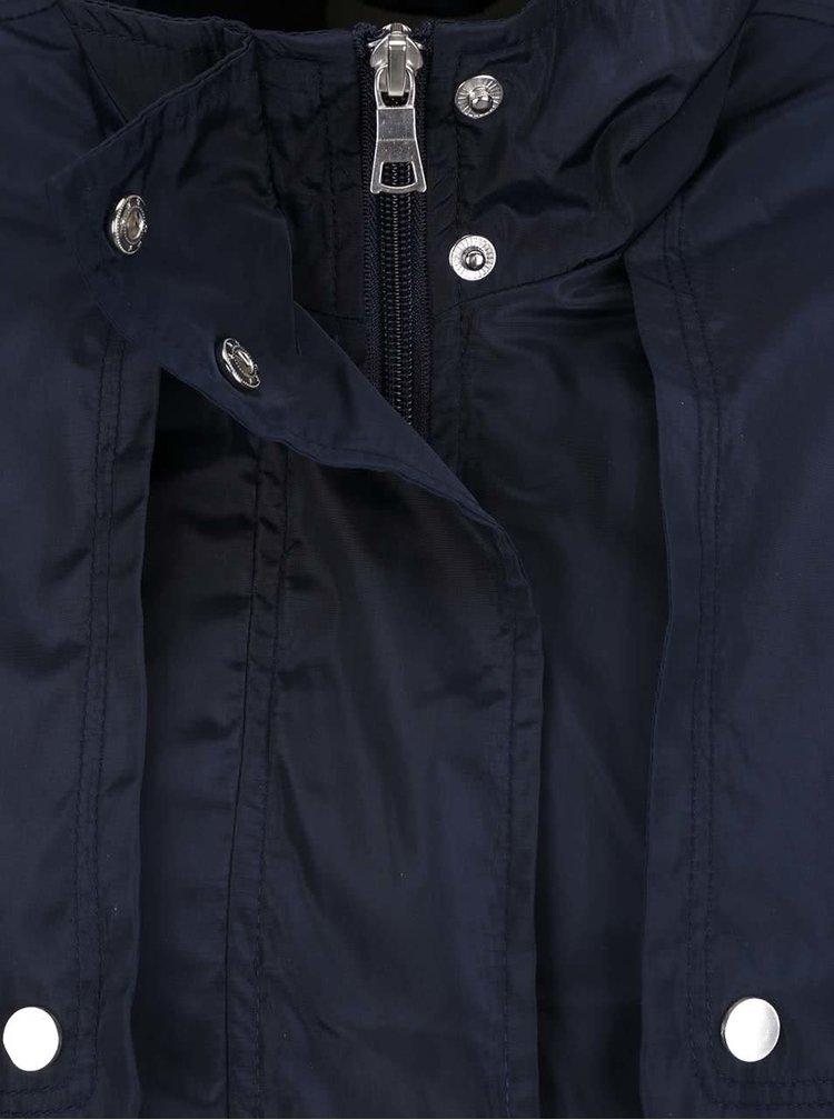 Jacheta albastru inchis VERO MODA Isaline cu detalii argintii