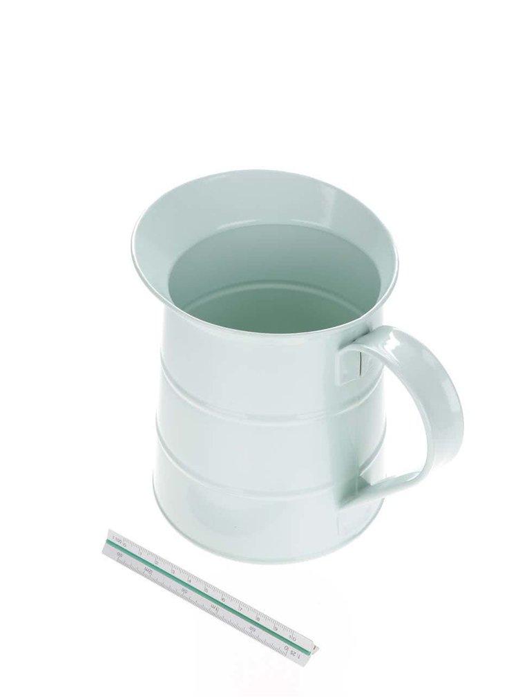 Světle zelený plechový džbán Kitchen Craft 1,1 l