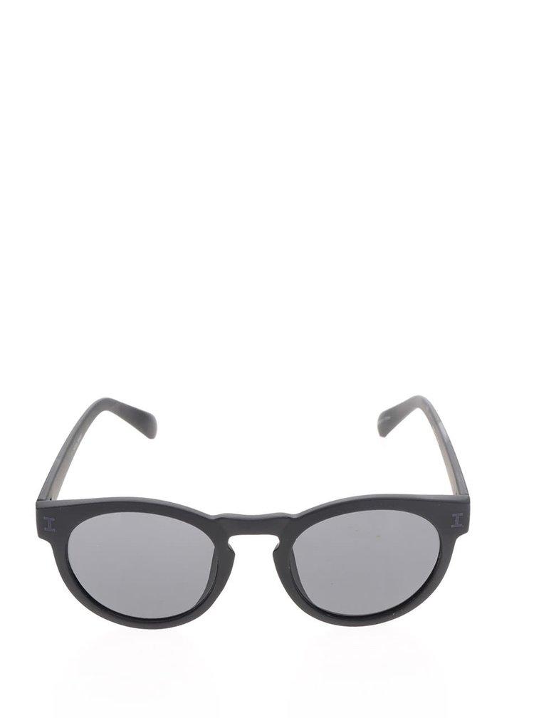 Černé pánské sluneční brýle Jack & Jones Brad