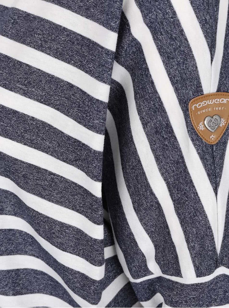 Bluză albastru închis Ragwear Blanche în dungi