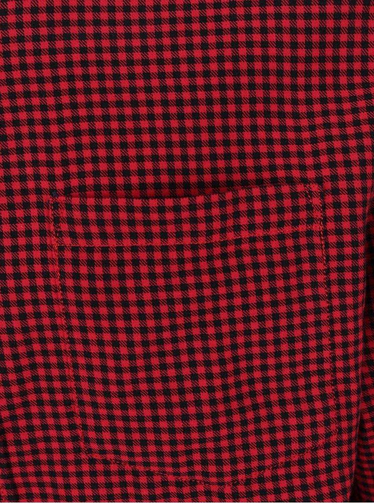Cămașă roșu&negru Jack&Jones Johan în carouri