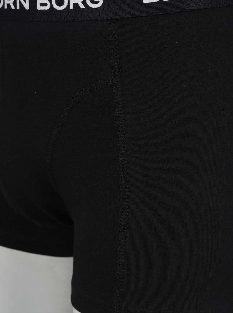 Sada dvou boxerek v černém a vzorovaném provedení  Björn Borg
