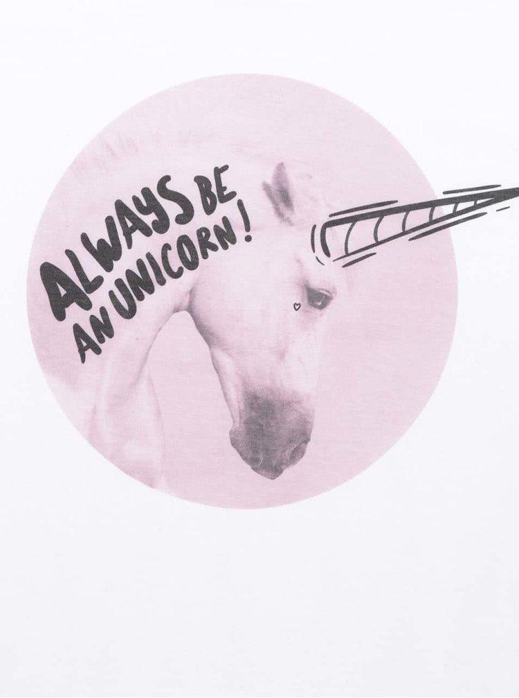 Bílé dámské triko ZOOT Originál Always be an unicorn