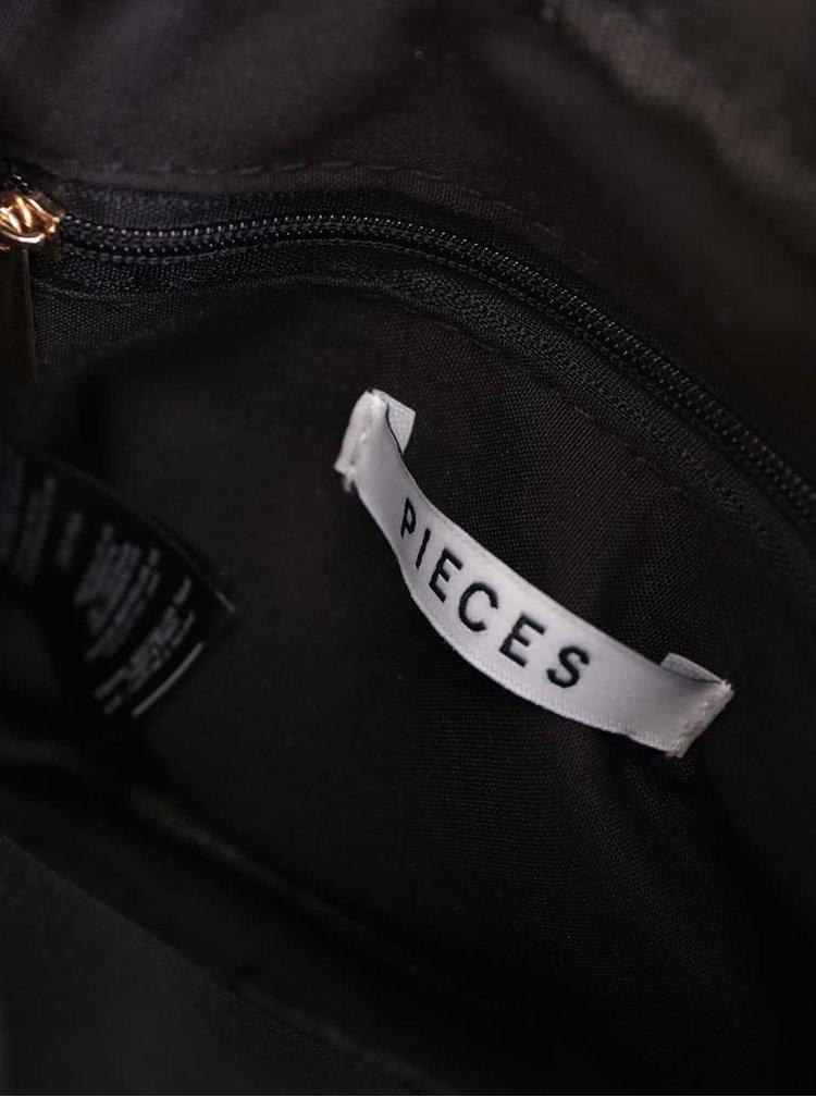 Starorůžová crossbody kabelka Pieces Lene