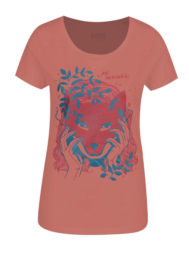 Růžové dámské triko ZOOT Originál Mě neochočíš