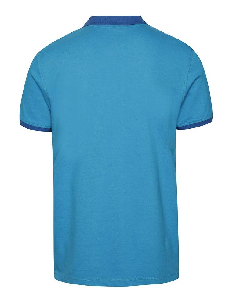 Světle modré polo triko Blend