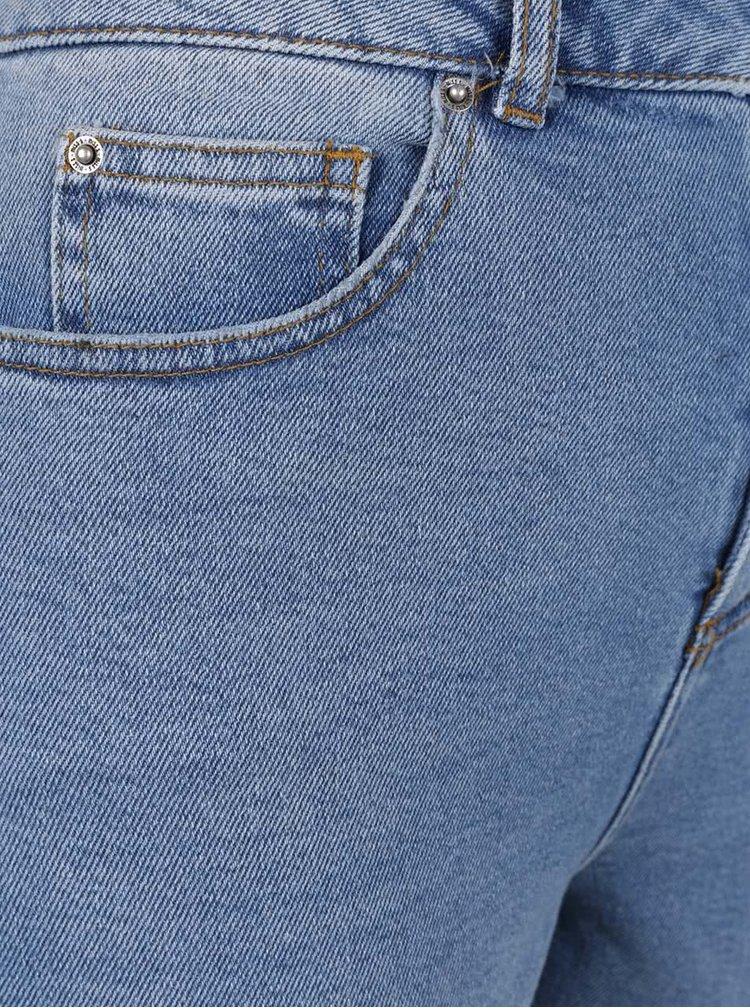 Modré džíny s vysokým pasem Miss Selfridge