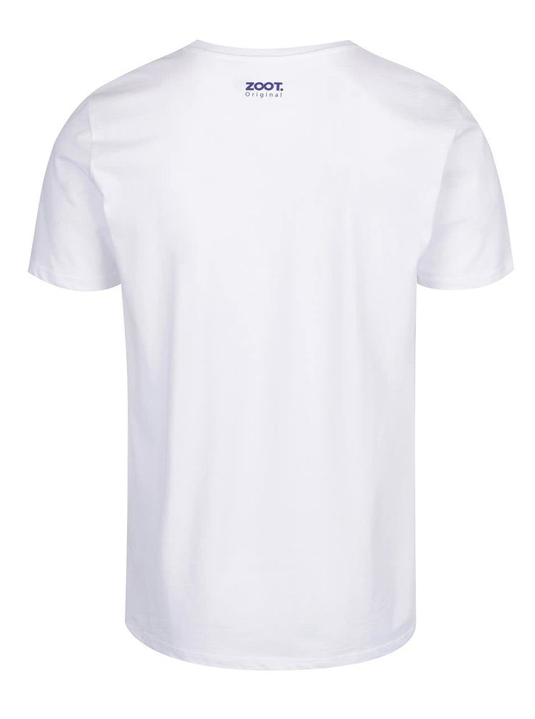 Bílé pánské triko ZOOT Originál Partysaur