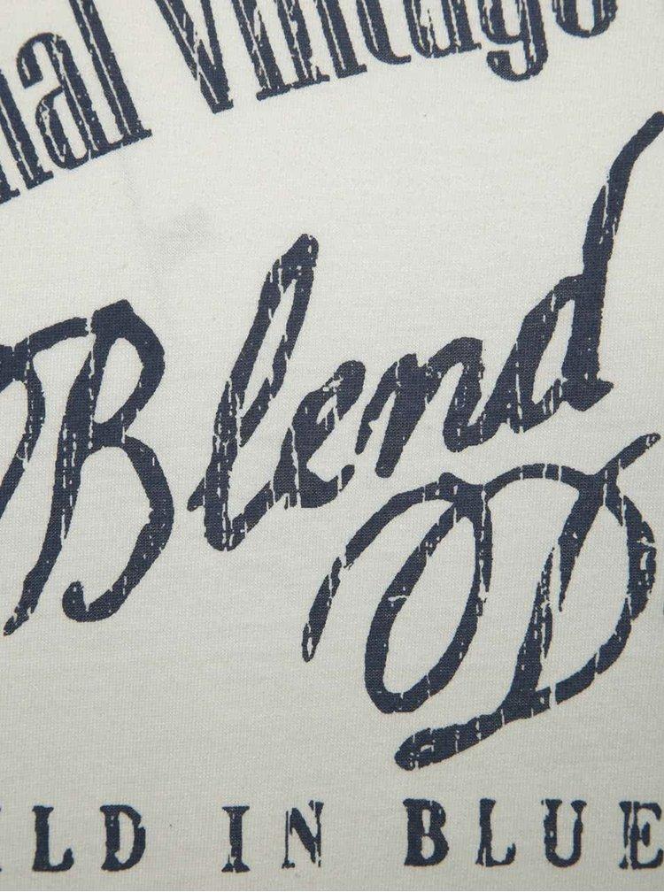 Krémové triko s potiskem Blend
